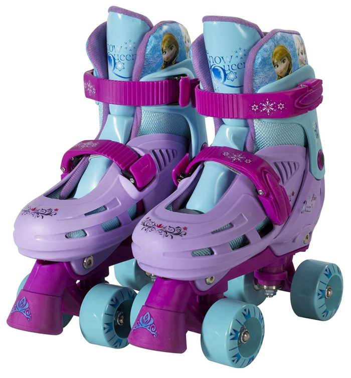 Child Skating - Disney Frozen Quad Roller Skates