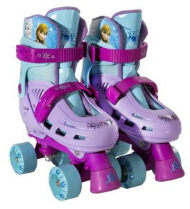Child Skating - Disney Frozen Quad Roller Skates1