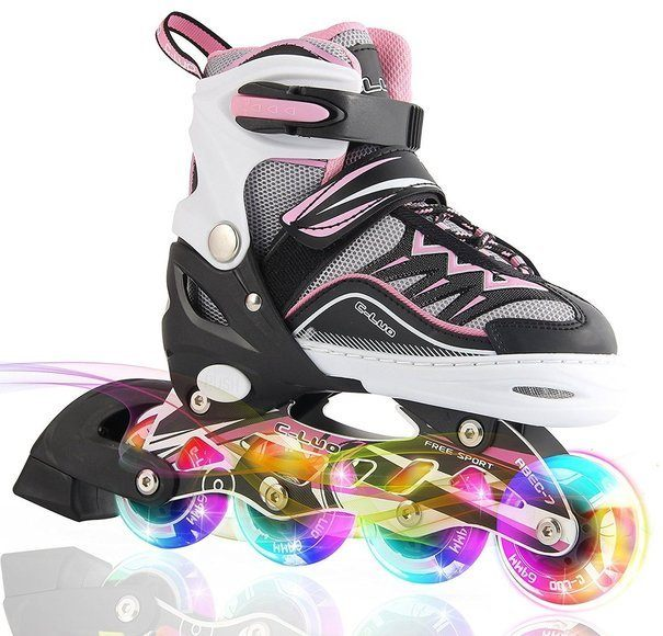 Kuxuan Girls Cira Adjustable Kids Inline Skate