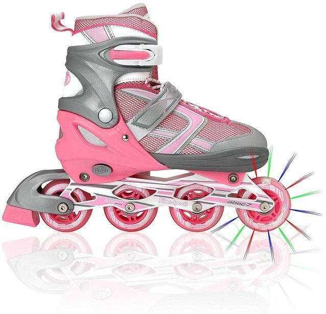 Premium Adjustable Inline Skates for Girls Comfortable & Durable Rollerblades