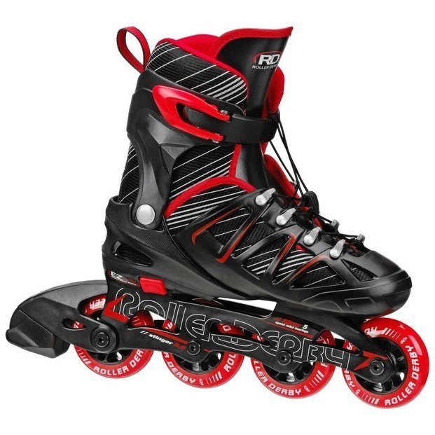 Roller Derby Boys Stinger 5.2 Adjustable Inline Skate