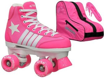 Epic Star Carina Indoor Outdoor High Top Quad Roller Skate